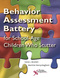 Behavior Assessment Battery SSC-SD-Speech Situation Checklist Reorder Set